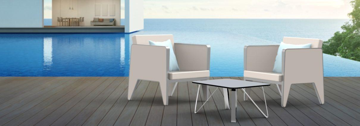 Outdoor marine furniture
